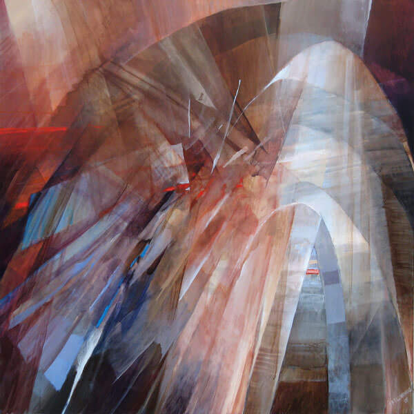Passage Painting - 48 x 48 - Contemporary Abstract Art - Acrylic on Canvas
