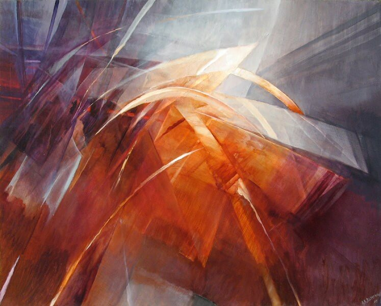 In Motion - 48x60 (SOLD)
