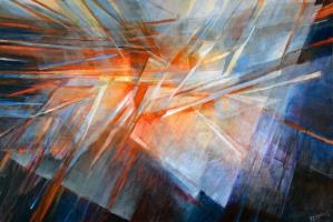 Play of Light - Large Original Painting