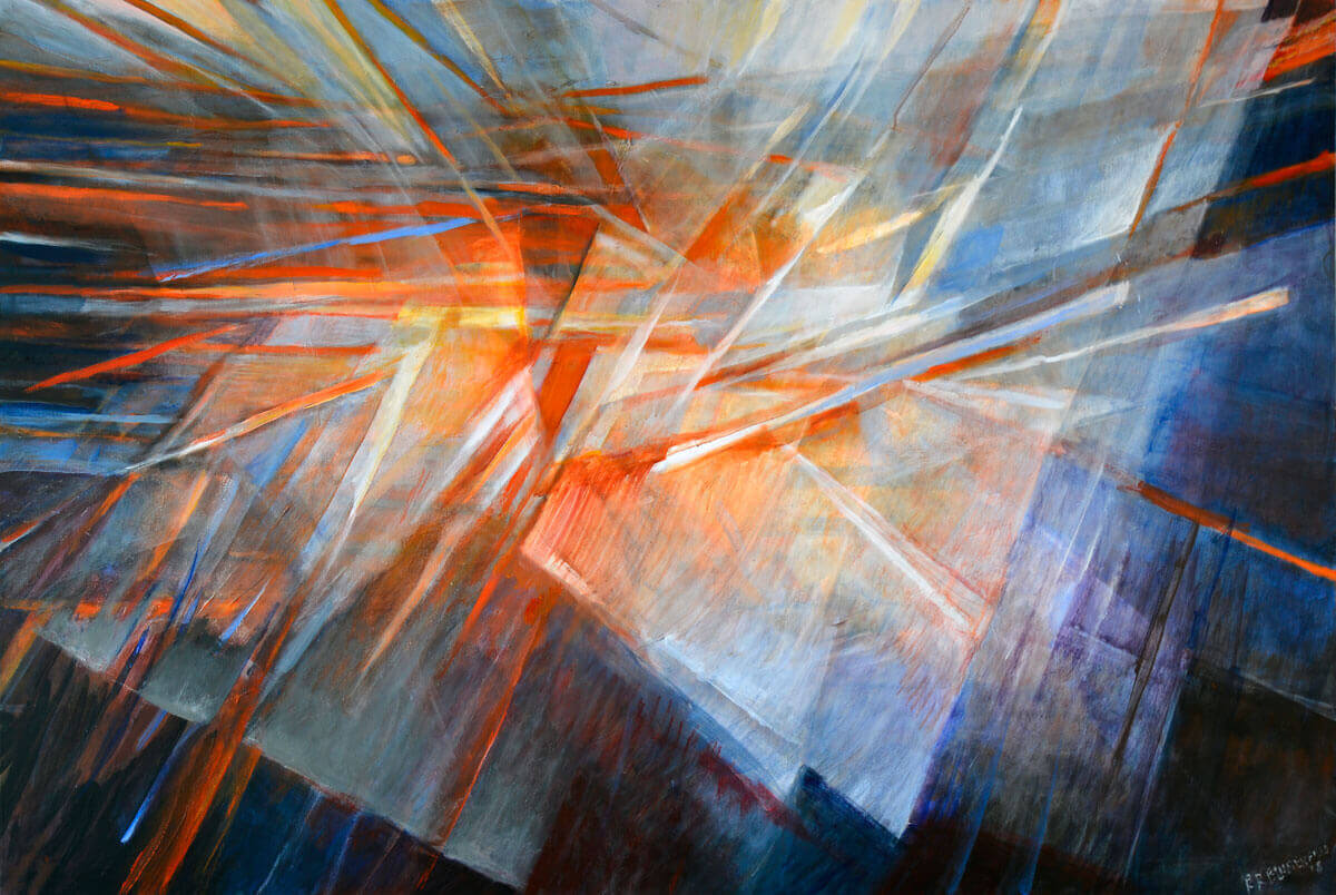Play of Light - Large Original Painting