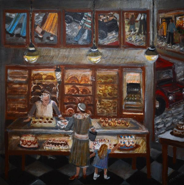 Bakery - Hill District Paintings