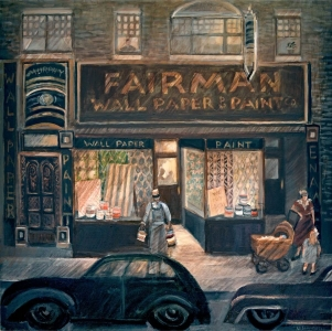Fairman's Wallpaper and Paint on Fullerton & Centre