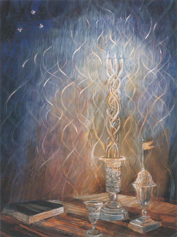 Havdalah painting