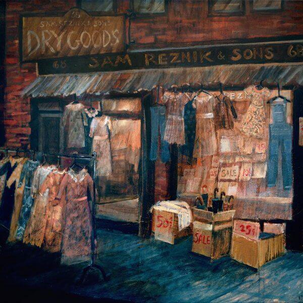 Reznik's - Logan St - Hill District Paintings