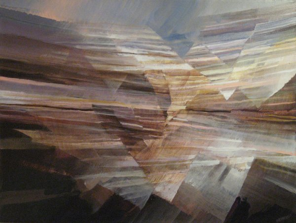 Strata IV - Abstract Contemporary Art
