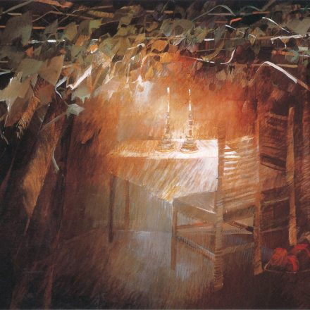 The Sukkah - Sukkot holiday wall art