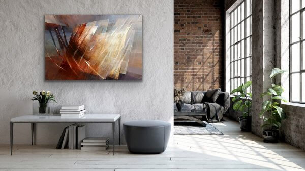 Voyage painting - in the large living room
