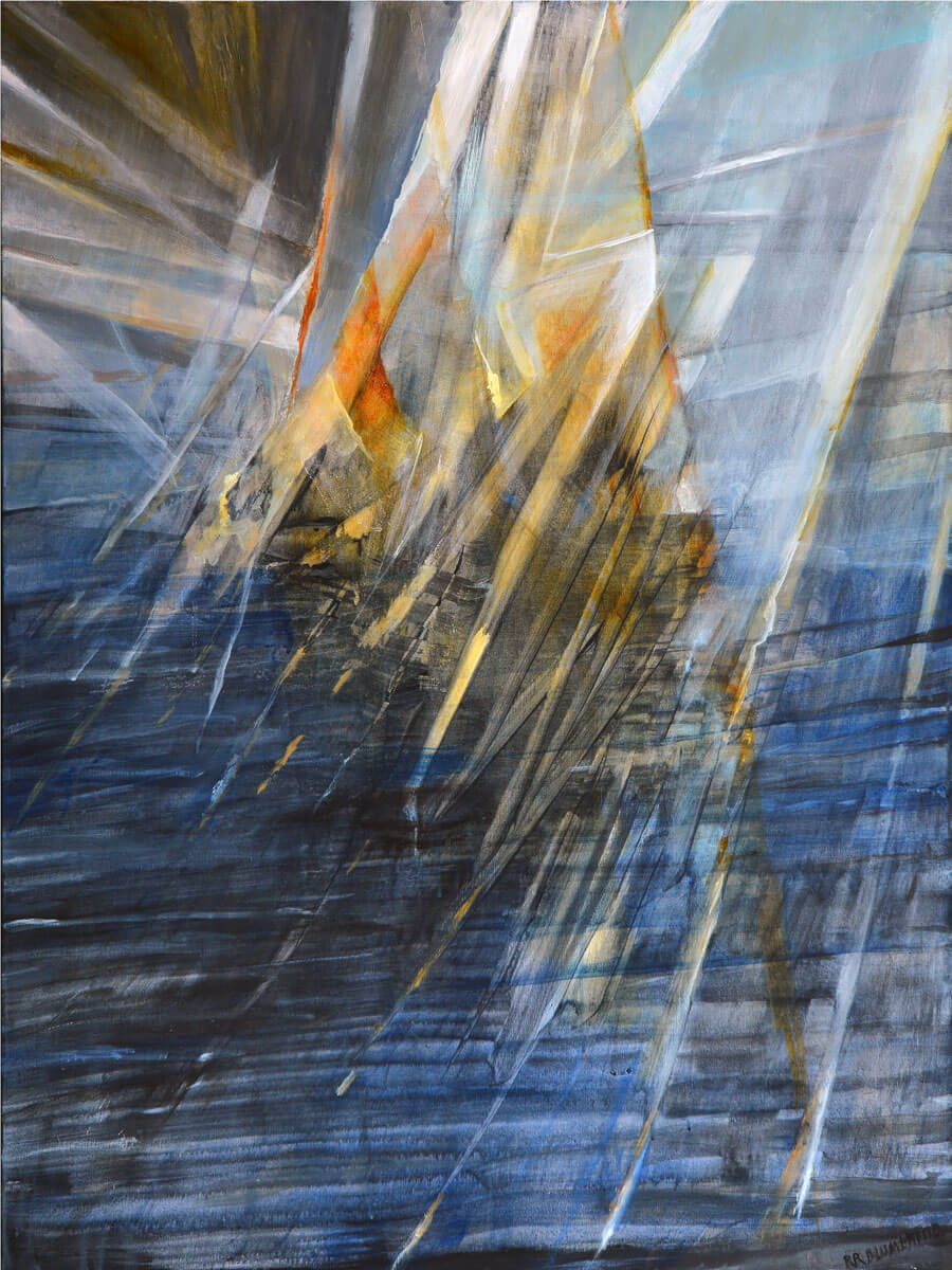 Weathering The Storm II - 40x30 in