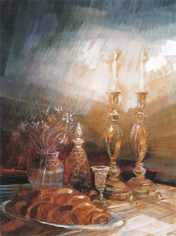 Shabbat Painting